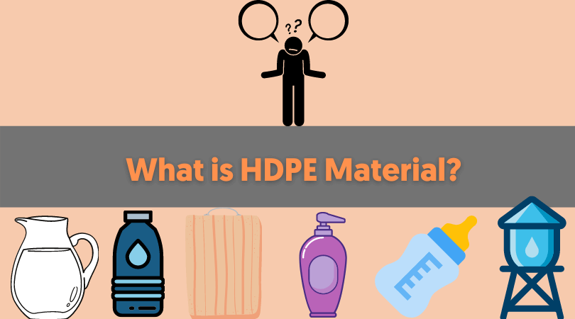what is HDPE material
