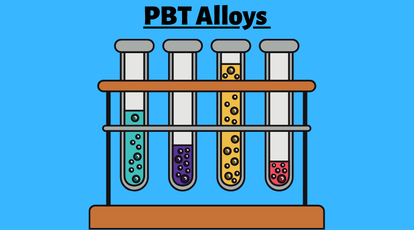 PBT alloys and blends